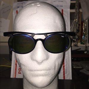 Bolle Vintage Sunglasses Blue Mirror